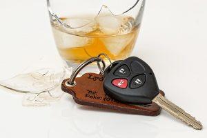 Broken Glass, Alcohol, Car Keys